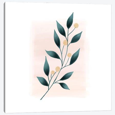 Botanical Minimalist Watercolor Canvas Print #NPS132} by Nordic Print Studio Canvas Artwork