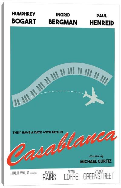 Casablanca Modern Movie Poster Canvas Art Print