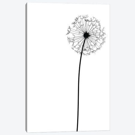 Modern Dandelion Canvas Print #NPS20} by Nordic Print Studio Canvas Artwork