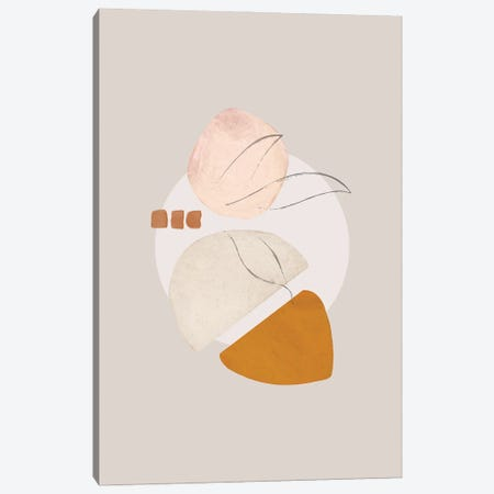 Abstract Print Study II Canvas Print #NPS2} by Nordic Print Studio Canvas Artwork