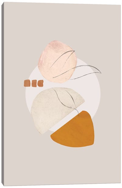 Abstract Print Study II Canvas Art Print