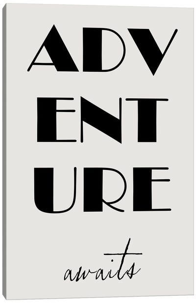 Adventure Awaits Canvas Art Print