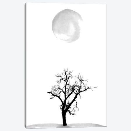 Minimalist Tree Print Canvas Print #NPS67} by Nordic Print Studio Canvas Art Print