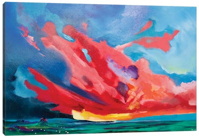 Holy Island (Northumberland) Canvas Art Print