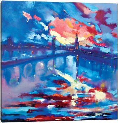 The Streets (London) Canvas Art Print