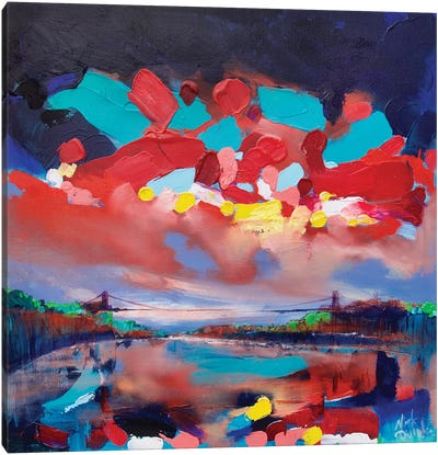 Bristol Suspension Bridge Canvas Art Print