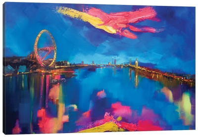 Ilondon Canvas Art Print