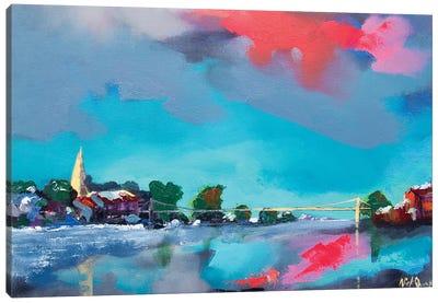 Marlow Winter Scene Canvas Art Print