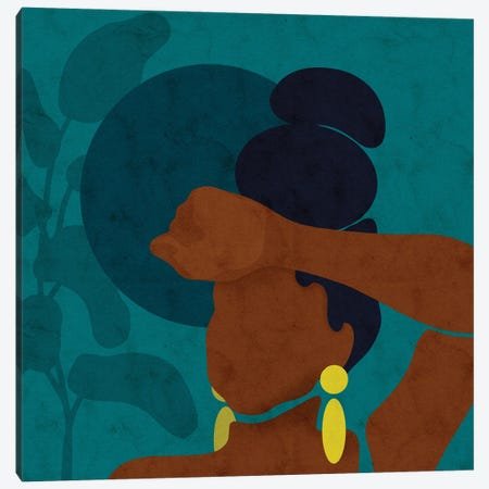 Ayana Canvas Print #NRE100} by Reyna Noriega Canvas Art