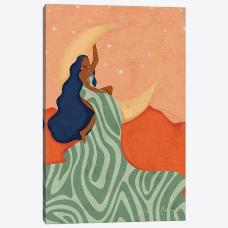 Big Dreamer Canvas Print #NRE106} by Reyna Noriega Art Print