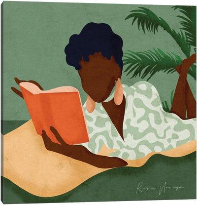 Book Love Canvas Art Print