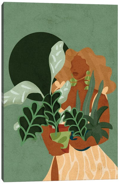 Plant Lady Canvas Art Print