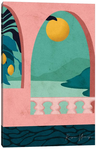 Positano Canvas Art Print