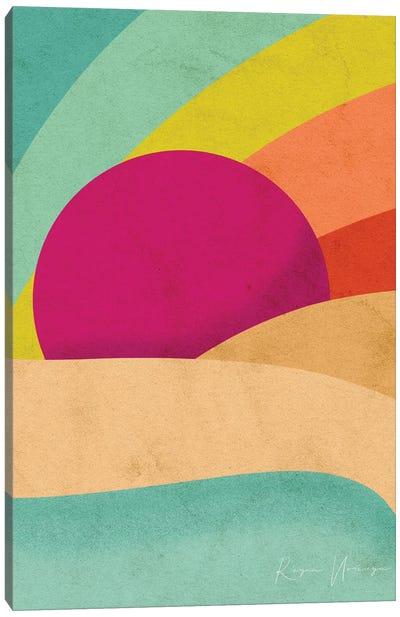 Pride Sunset Canvas Art Print
