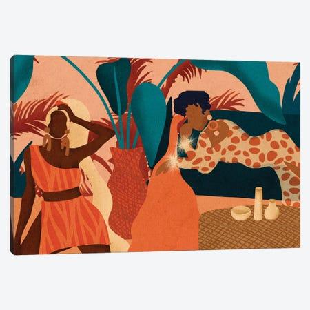 Girls Night In Canvas Print #NRE16} by Reyna Noriega Canvas Art Print