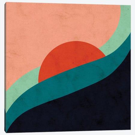 Horizon Canvas Print #NRE17} by Reyna Noriega Canvas Art Print