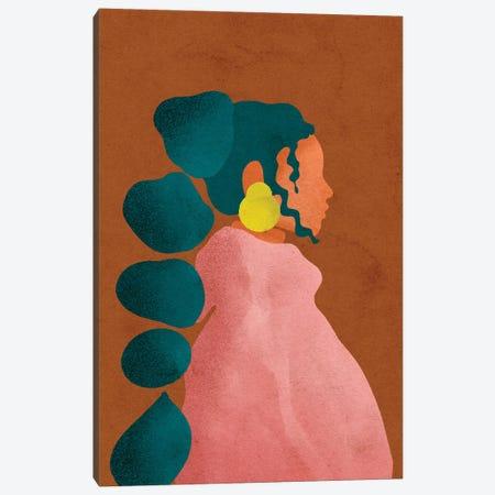 Kel 3-Piece Canvas #NRE23} by Reyna Noriega Canvas Print