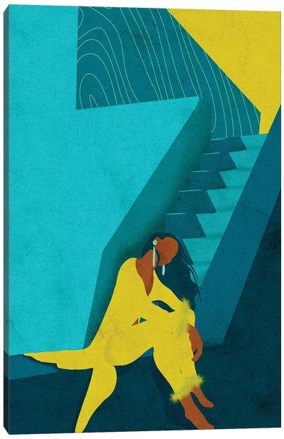 Kelsi Canvas Art Print