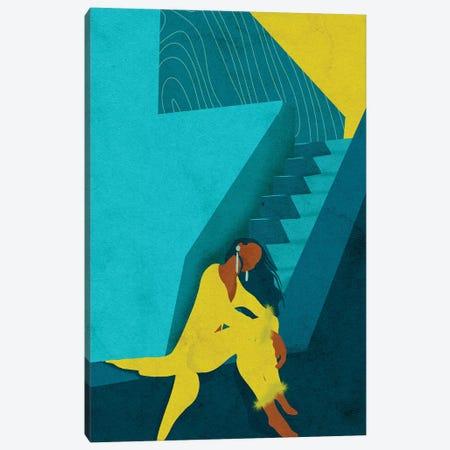 Kelsi 3-Piece Canvas #NRE24} by Reyna Noriega Canvas Art