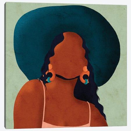 Kim Canvas Print #NRE25} by Reyna Noriega Canvas Artwork