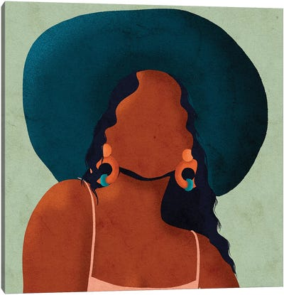 Kim Canvas Art Print