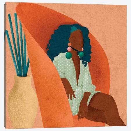 Lee Canvas Print #NRE26} by Reyna Noriega Canvas Artwork