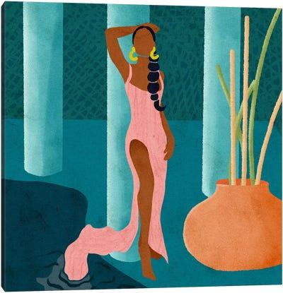 Mel Canvas Art Print
