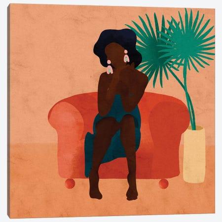 Nas Canvas Print #NRE35} by Reyna Noriega Canvas Print