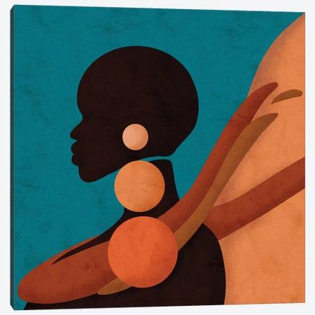 Nya Canvas Print #NRE37} by Reyna Noriega Canvas Art Print