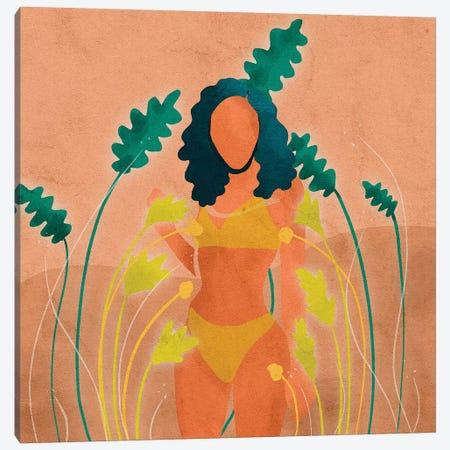 Paige Canvas Print #NRE39} by Reyna Noriega Canvas Art