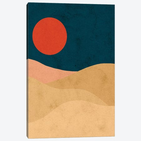 Blood Moon Canvas Print #NRE3} by Reyna Noriega Canvas Print