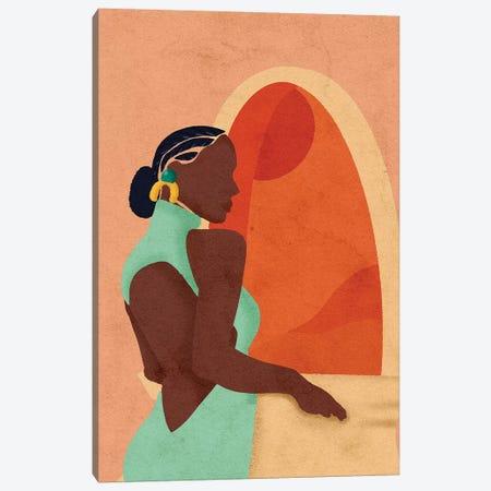 Pam Canvas Print #NRE40} by Reyna Noriega Canvas Art Print