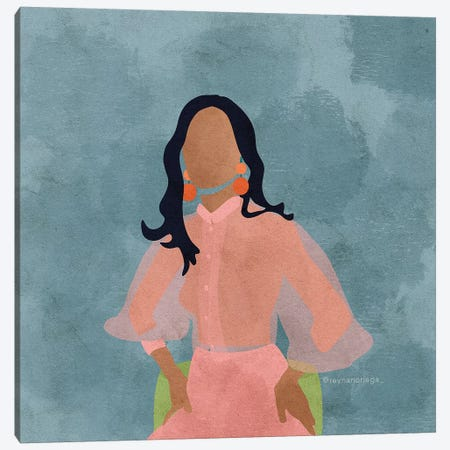 Shaena Canvas Print #NRE46} by Reyna Noriega Canvas Art