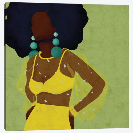 Sheeva Canvas Print #NRE47} by Reyna Noriega Canvas Artwork
