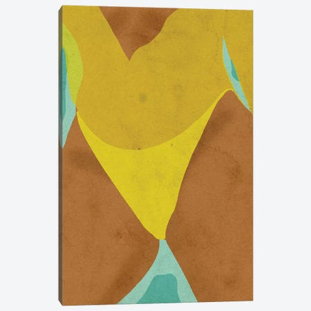 Body Positive Canvas Print #NRE4} by Reyna Noriega Canvas Artwork