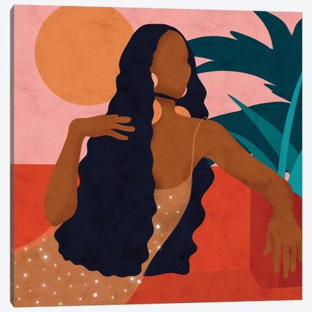 Taraji Canvas Print #NRE50} by Reyna Noriega Canvas Art