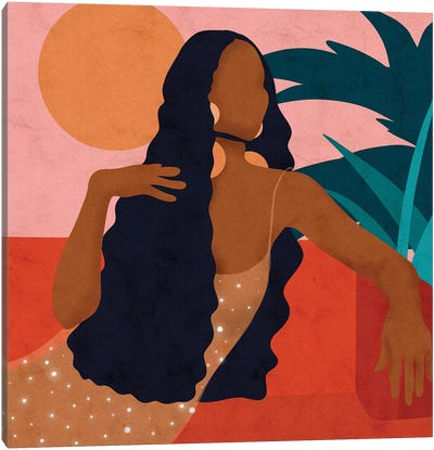 Taraji Canvas Art Print