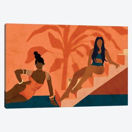When In Ibiza Canvas Print #NRE54} by Reyna Noriega Art Print