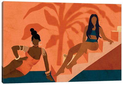 When In Ibiza Canvas Art Print