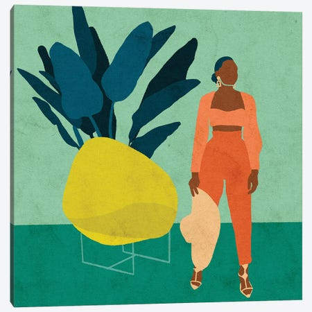 Zola Canvas Print #NRE55} by Reyna Noriega Canvas Art Print