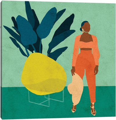 Zola Canvas Art Print