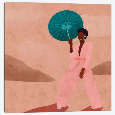 Afrikanaa Canvas Print #NRE56} by Reyna Noriega Canvas Print