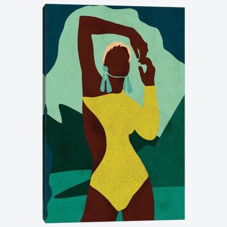 Citronella Canvas Print #NRE5} by Reyna Noriega Canvas Wall Art