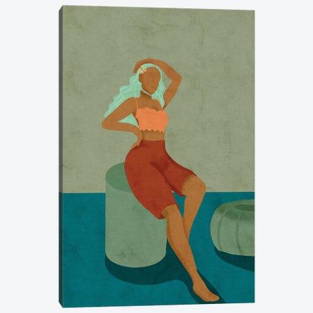 Lulu  Canvas Print #NRE62} by Reyna Noriega Art Print