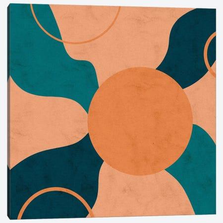 Orbital Frenzy Canvas Print #NRE63} by Reyna Noriega Canvas Print
