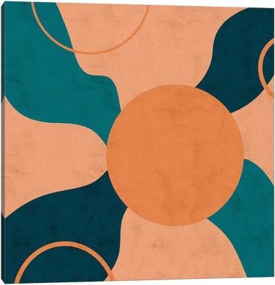 Orbital Frenzy Canvas Art Print