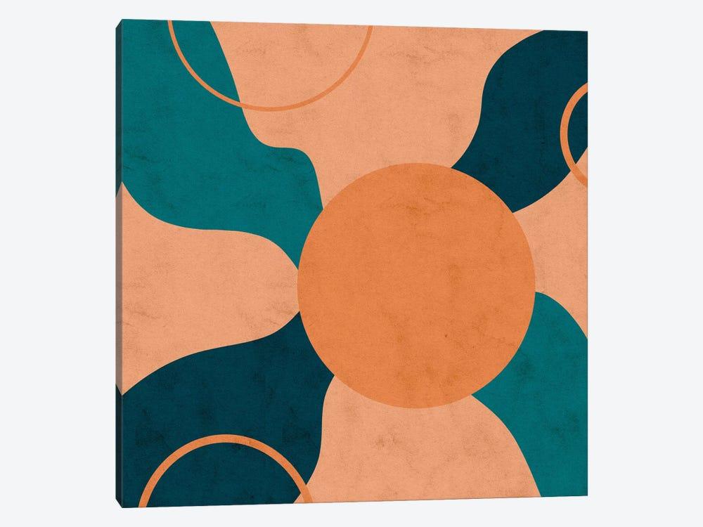 Orbital Frenzy by Reyna Noriega 1-piece Canvas Wall Art