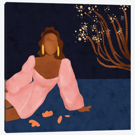 Tati Canvas Print #NRE65} by Reyna Noriega Canvas Wall Art
