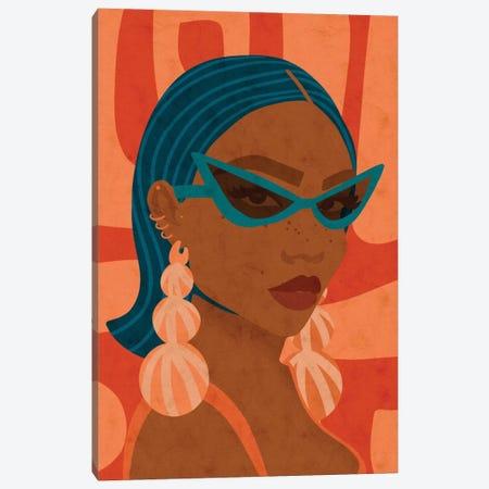 Shady Canvas Print #NRE67} by Reyna Noriega Canvas Art