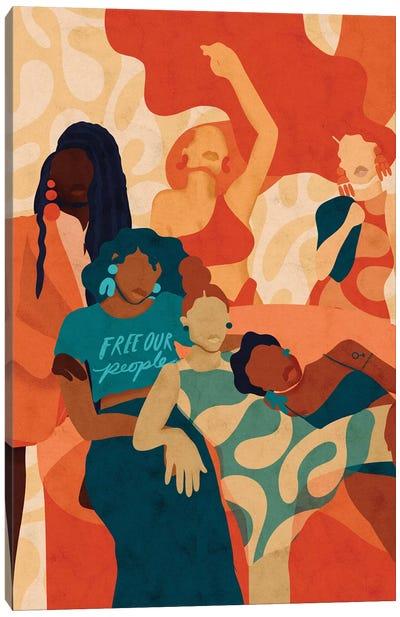 Women Canvas Art Print